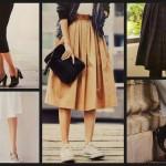 ミモレ丈の着こなしと美脚の関係